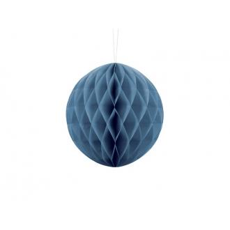 Kula bibułowa, niebieski, 20cm, 1szt.