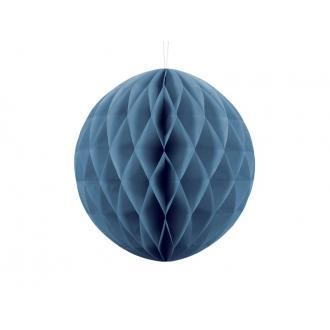 Kula bibułowa, niebieski, 30cm, 1szt.