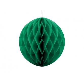 Kula bibułowa, sz. zielony, 30cm, 1szt.