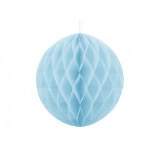 Kula bibułowa, j. błękit, 30cm, 1szt.