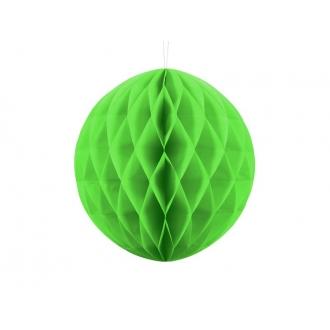 Kula bibułowa, z. jabłuszko, 30cm, 1szt.