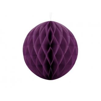 Kula bibułowa, c. winogron, 30cm, 1szt.