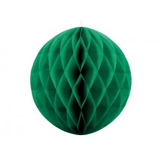 Kula bibułowa, sz. zielony, 40cm, 1szt.