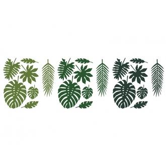 Dekoracje papierowe Aloha, mix, 1op.