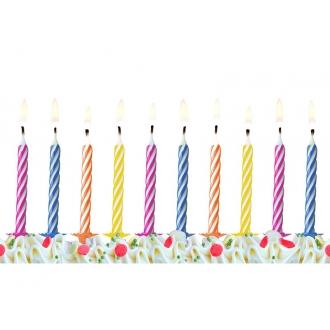Świeczki urodzinowe, mix, 1op.