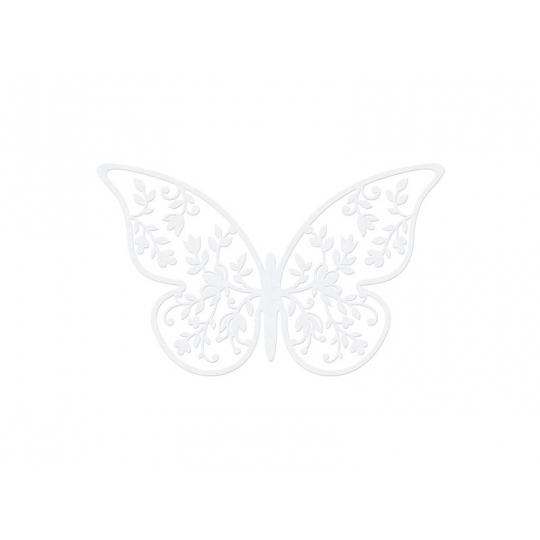 Dekoracje papierowe Motyl, 8 x 5cm, 1op.