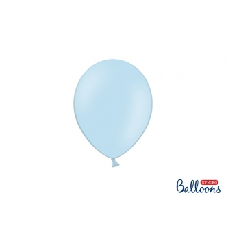 Balony Strong 12cm, Pastel Baby Blue, 100szt.
