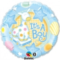 "Balon foliowy 18"" QL CIR ""It is a Boy"" ST ASORT"
