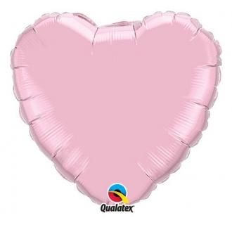 "Balon foliowy 18"" QL HRT ""Serce różowe"""