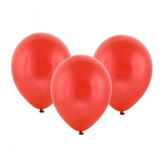 """Balon pastelowy 12"""" """"Bronisze"""" / czerwony, 100 szt."""
