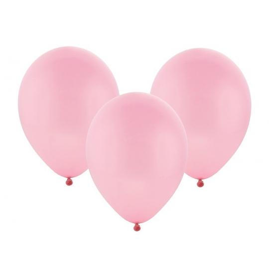 "Balon pastelowy 12"" ""Bronisze"" / różowy, 100 szt."