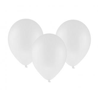 "Balon pastelowy 12"" ""Bronisze"" / biały, 100 szt."