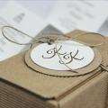 Zaproszenie Ślubne w Formie Pudełka z Wyciętym Sercem F1405p
