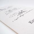 Zaproszenie Ślubne z Rowerami w Kolorze Ecru F1426