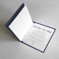 Zaproszenie Ślubne Granatowe z Witrażem F1308ng