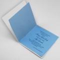 Zaproszenie Komunijne Koloru Perłowego z Wycięciem Laserowym FLK19