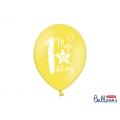 Balony 30cm, My 1st bday, mix, 6szt.