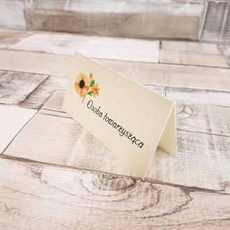 Winietka Ślubna z Motywem Pastelowych Kwiatów WW07