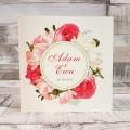 Zaproszenie Ślubne z Motywem Kwiatowym WZ02