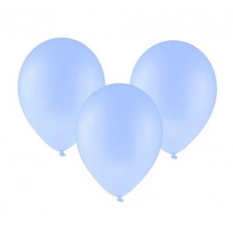 "Balon pastelowy 12"" ""Bronisze"" / niebieski, 100 szt.szt."