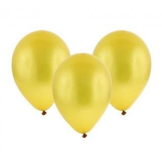 """Balon metaliczny 12"""" """"Bronisze"""" / złoty, 100 szt."""