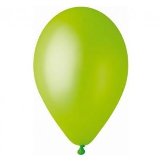 """Balon GM110 metal 12"""" - """"pistacjowy"""" / 100 szt."""