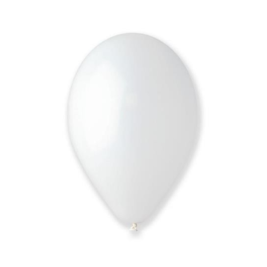 "Balon G90 pastel 10"" - ""transparent"" / 100 szt."