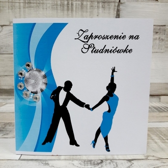 Zaproszenie na Studniówkę Taniec Para ZS02