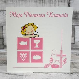 Zaproszenie na Komunie Symbole ZK11