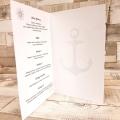 Pudełko na koperty i prezenty w Stylu Morskim Latarnia WP32