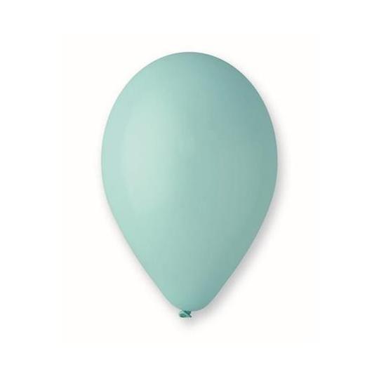 "Balon G110 pastel 10"" - ""turkusowo-zielony"" / 100 szt"