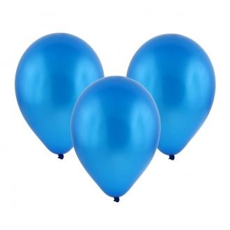 """Balon metaliczny 12"""" """"Bronisze"""" / granatowy, 100 szt."""