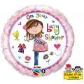 "Balon foliowy 18"" QL CIR ""On Your Baby Shower """