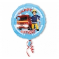 "Balon foliowy 18'' CIR - "" Strażak Sam Happy Birthday"""
