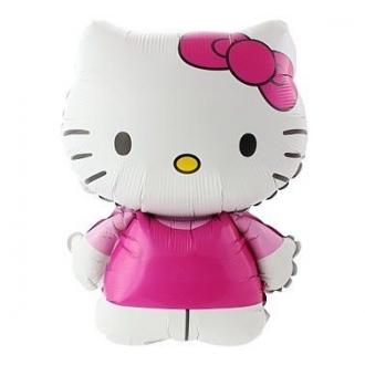 """Balon foliowy 24"""" FX - """"Hello Kitty (różowa kokardka)"""""""