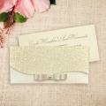 Zaproszenia Ślubne w Formie Kopertówki z Kokardką F5482