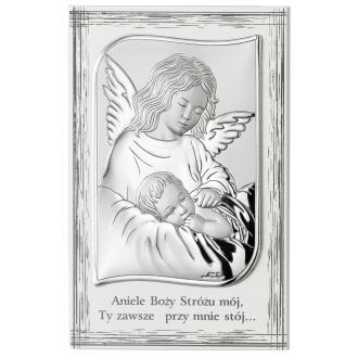 Obrazek z Aniołkiem Czuwającym nad Dzieckiem WVL82109PL