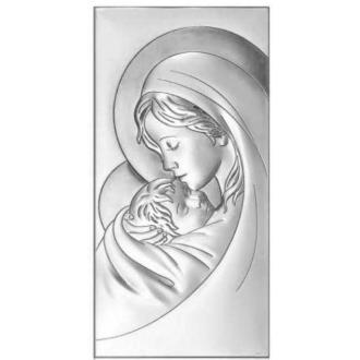 Obrazek z Matką Boską Trzymającą Jezuska WBC6381