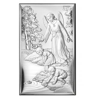 Obrazek z Aniołem Strzegącym Dzieci WV18001