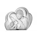 Obrazek Srebrny ze Świętą Rodziną WVL81245NEU