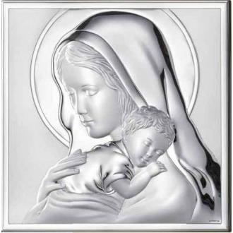 Obrazek z Maryją Tulącą Dzieciątko Jezus WM000524_7