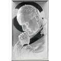 Obrazek Srebrny z Janem Pawłem II WVL81234