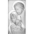 Obrazek Srebrny ze Świętą Rodziną WBC6474