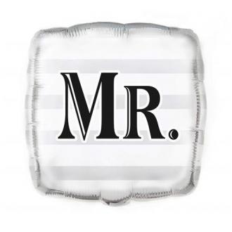 "Balon foliowy UQ 18"" SQR ""Mr."""