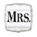 "Balon foliowy UQ 18"" SQR ""Mrs."""