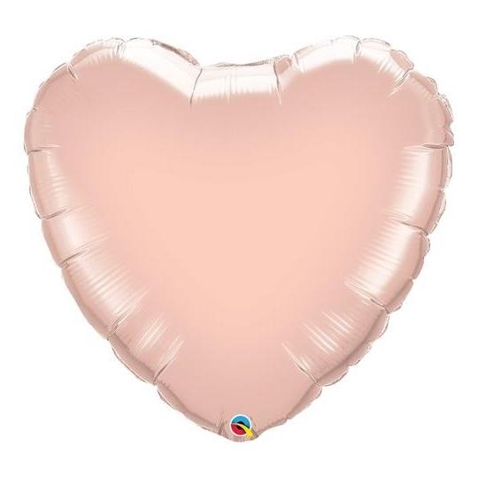 "Balon foliowy 18"" QL HRT ""Rose Gold"""