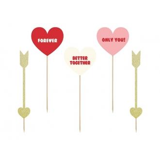 Toppery Sweet Love - Serca i strzałki
