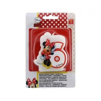 """Świeczka Disney """"Minnie Cafe 6"""""""