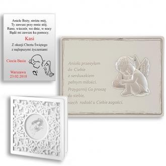 Obrazek Srebrny z Aniołkiem na Panelu WVL818S
