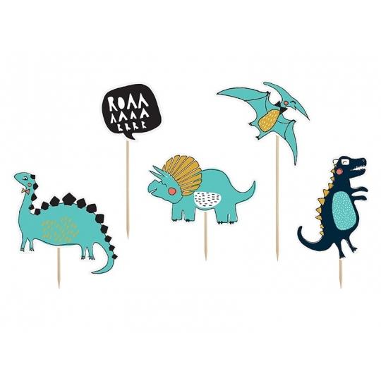 Toppery Dinozaury, 15,5-20cm (1 op. / 5 szt.)